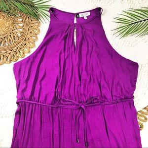 Jennifer Lopez Purple Maxi Dress